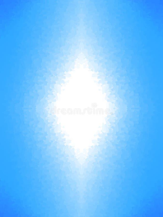 Indicatore luminoso bianco astratto illustrazione di stock