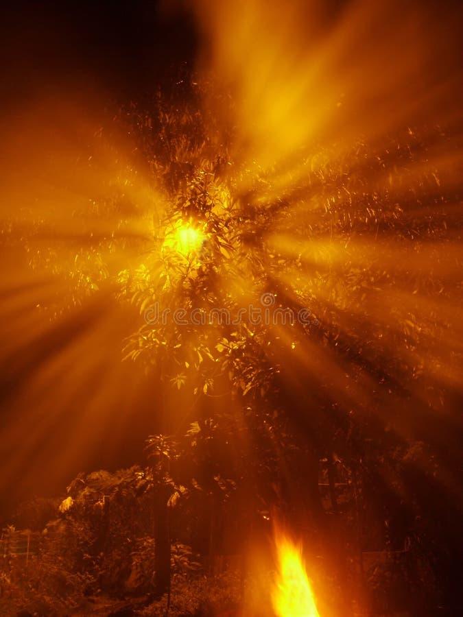 Indicatore Luminoso Brillante III Immagine Stock