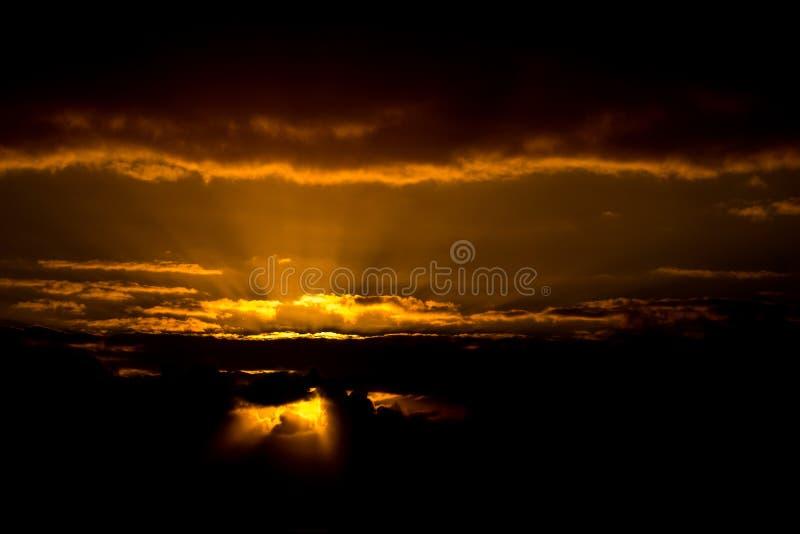 Indicatore luminoso celeste immagini stock libere da diritti
