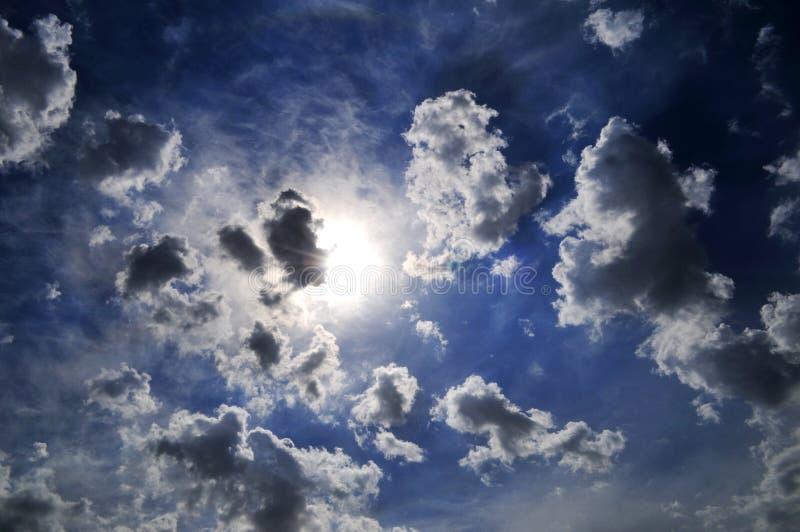 Indicatore luminoso celestiale fotografie stock