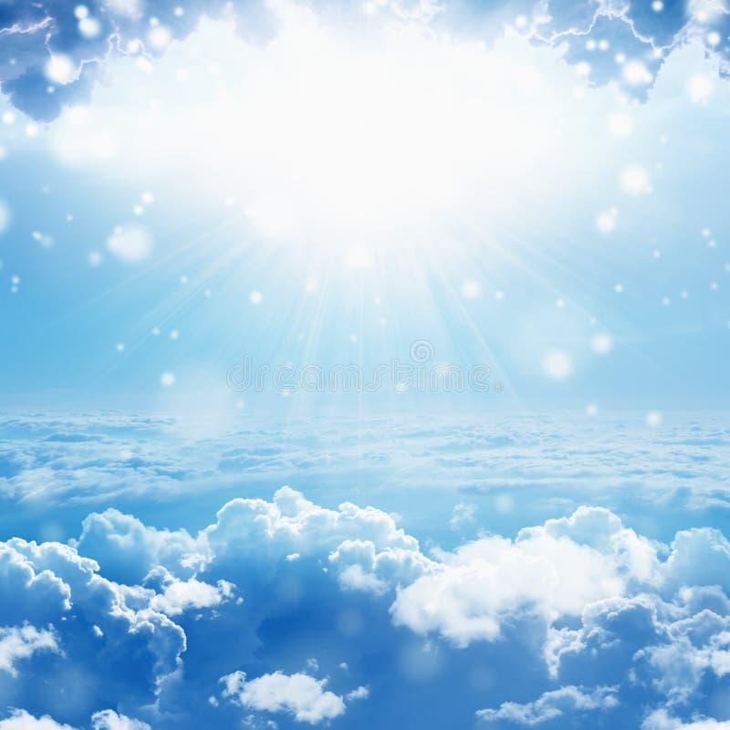 Indicatore luminoso da cielo fotografia stock libera da diritti