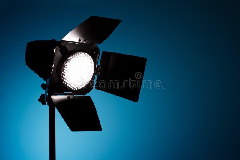 Indicatore luminoso del punto dello studio fotografie stock