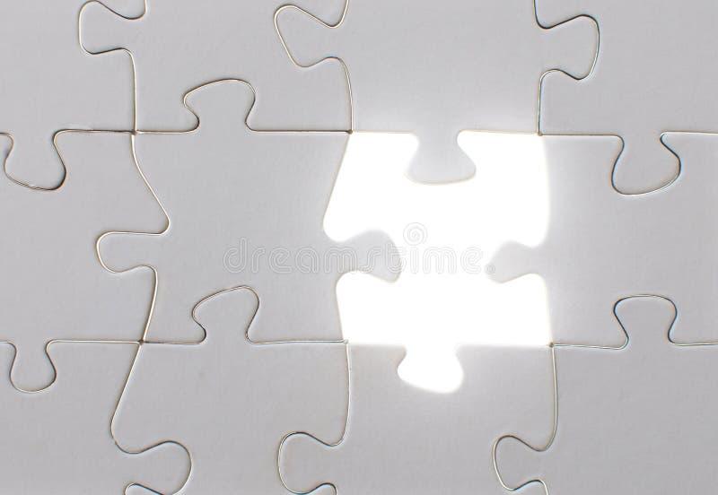 Indicatore luminoso del puzzle immagine stock