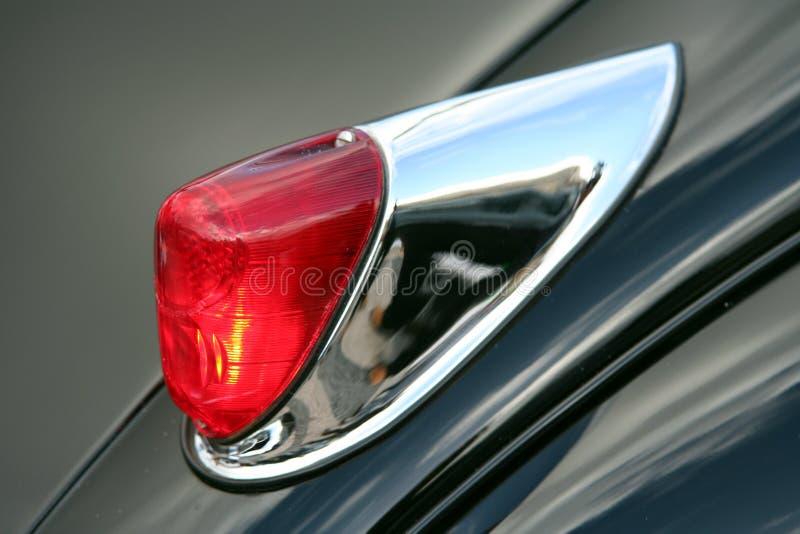 Indicatore luminoso dell'automobile dell'annata immagini stock libere da diritti