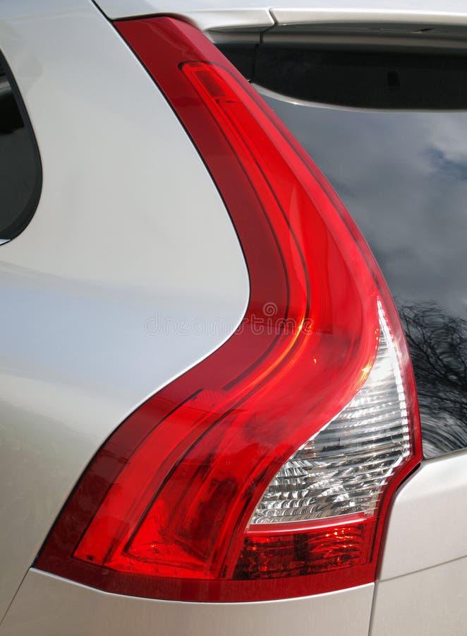 Indicatore luminoso della coda dell'automobile immagine stock libera da diritti