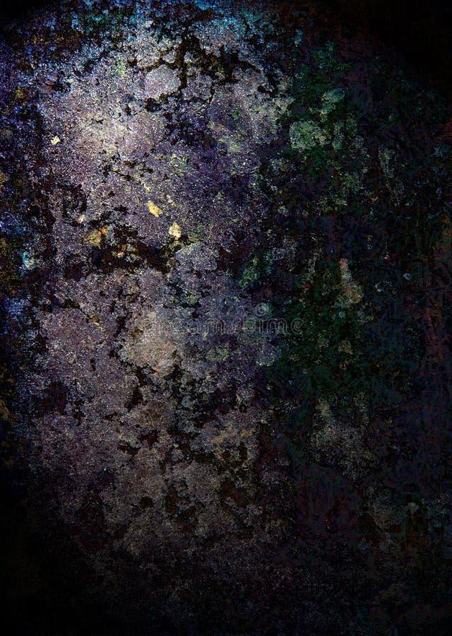 Indicatore luminoso della roccia di Grunge illustrazione vettoriale