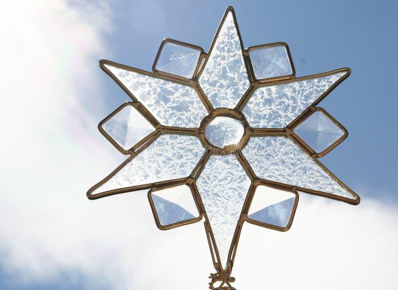 Indicatore luminoso della stella fotografie stock libere da diritti