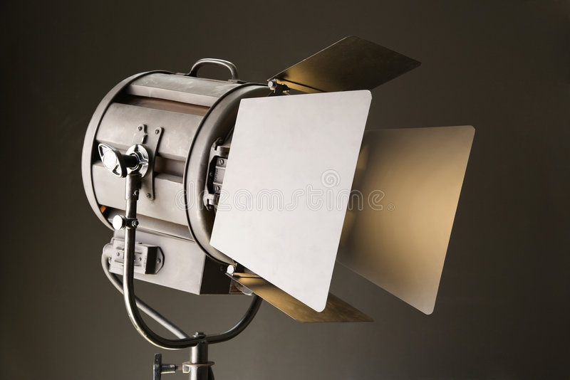 Indicatore luminoso dello studio. fotografie stock libere da diritti