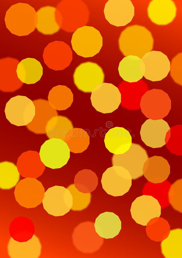 Indicatore luminoso di Defocus illustrazione di stock