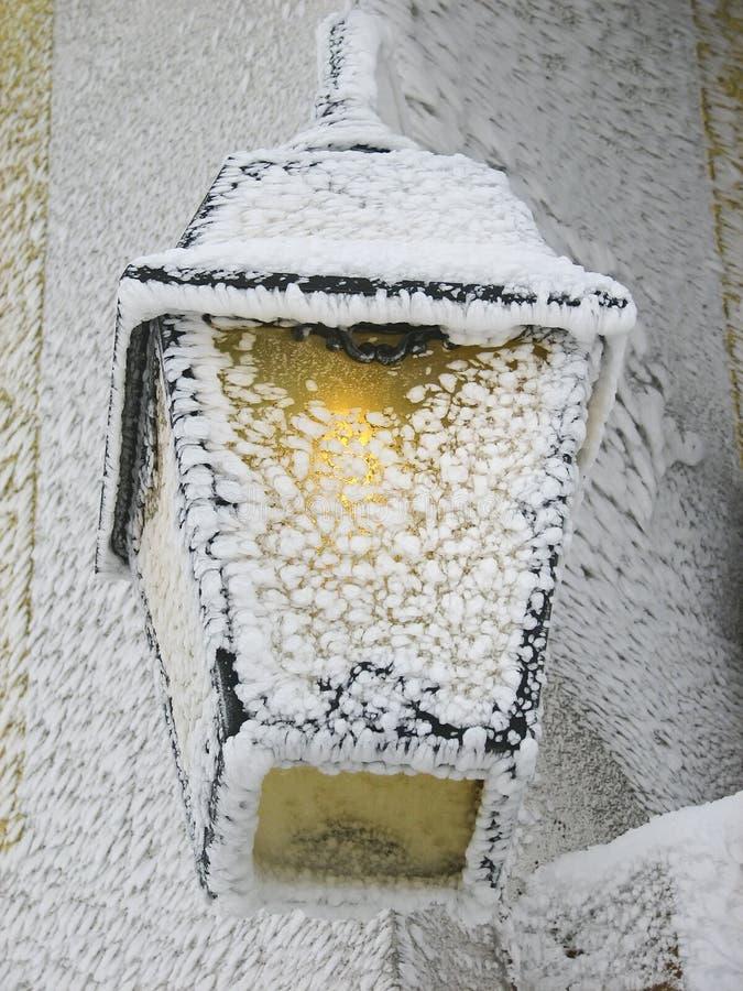 Indicatore luminoso di inverno immagine stock