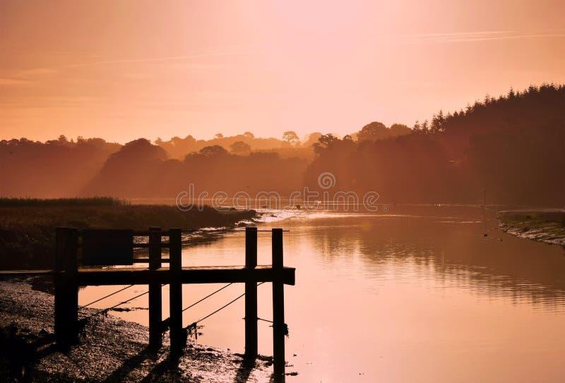 Indicatore luminoso di mattina fotografia stock