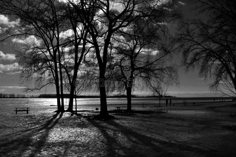 Indicatore luminoso di serenità fotografie stock libere da diritti