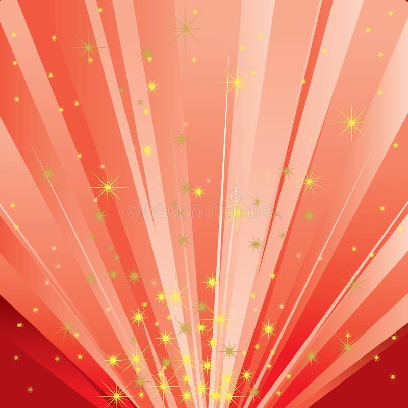 Indicatore luminoso magico illustrazione vettoriale