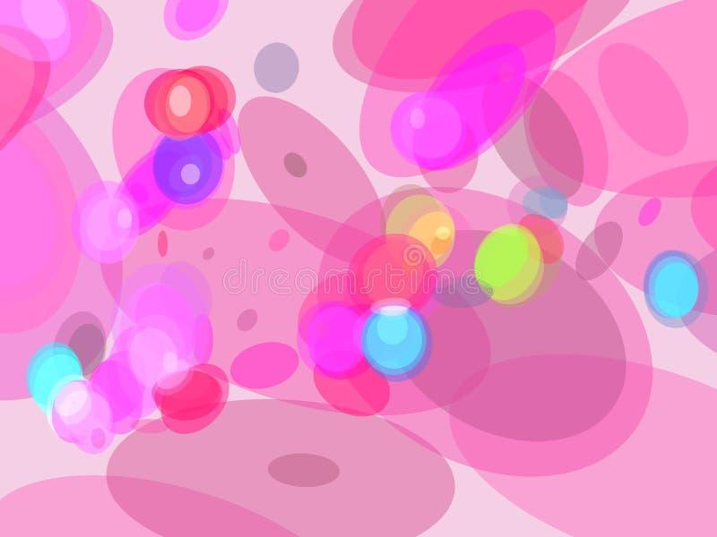 Indicatore luminoso magico astratto illustrazione vettoriale