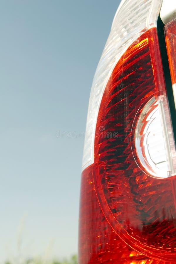 Indicatore luminoso posteriore di un'automobile 02 fotografie stock