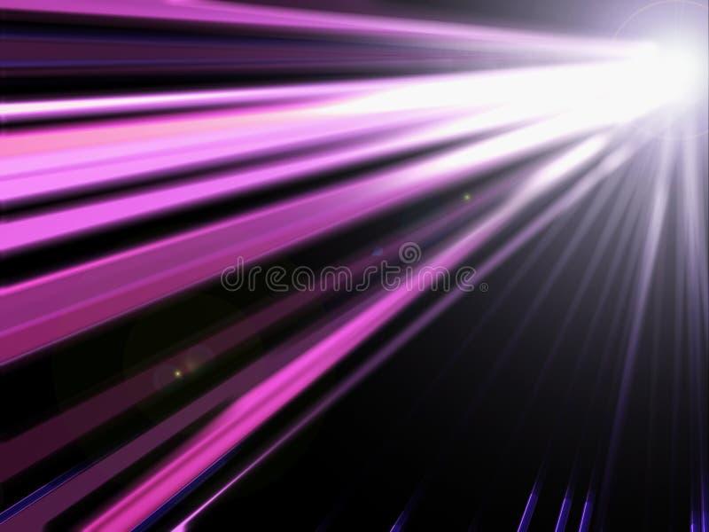 Indicatore luminoso viola astratto illustrazione di stock