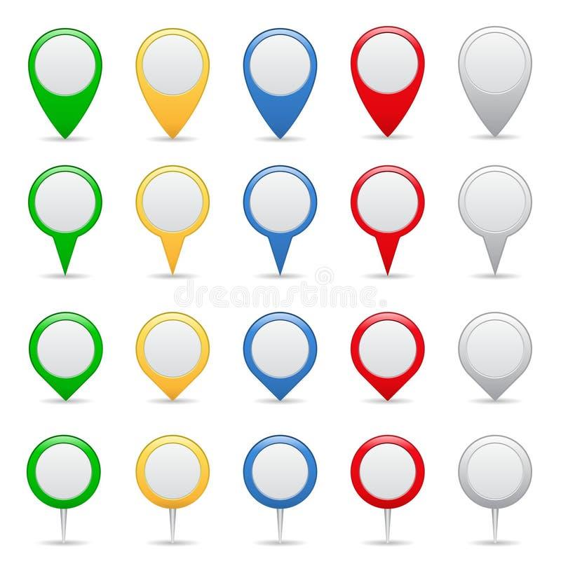 Indicatori illustrazione vettoriale