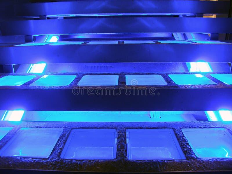 Download Indicatori Luminosi Al Neon Immagine Stock - Immagine di concreto, background: 216027