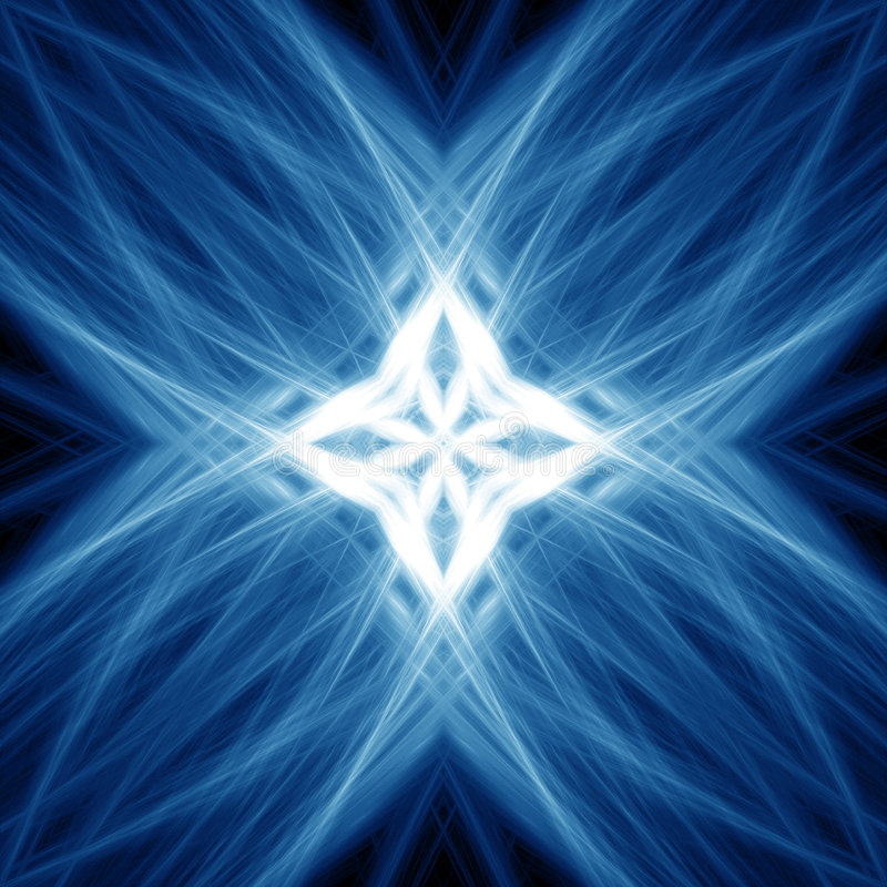 Indicatori luminosi blu royalty illustrazione gratis