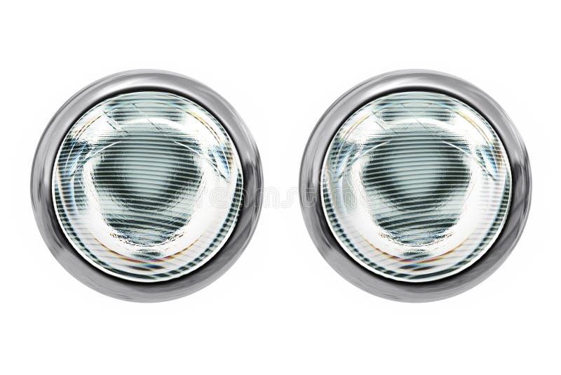 indicatori luminosi capi isolati fotografie stock