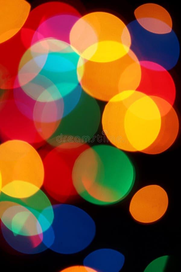 Indicatori luminosi Defocused fotografia stock