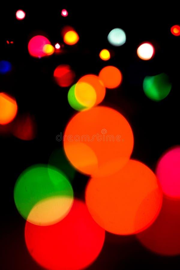 Indicatori luminosi Defocused fotografie stock libere da diritti