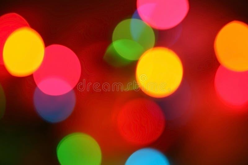 Indicatori luminosi del partito fotografia stock