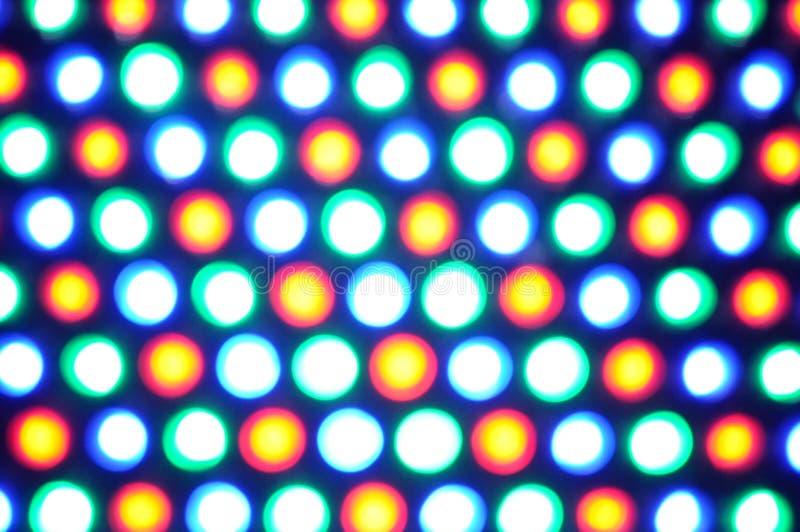 Indicatori luminosi del puntino fotografie stock libere da diritti