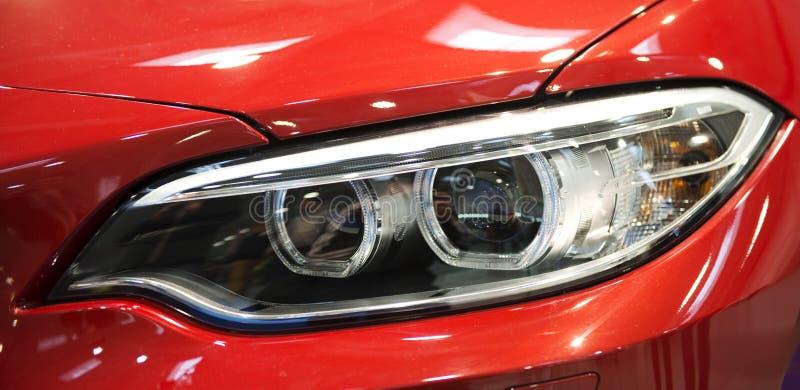 Indicatori luminosi dell'automobile fotografie stock