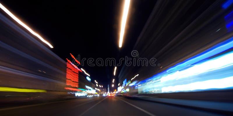 Indicatori luminosi della strada fotografie stock libere da diritti