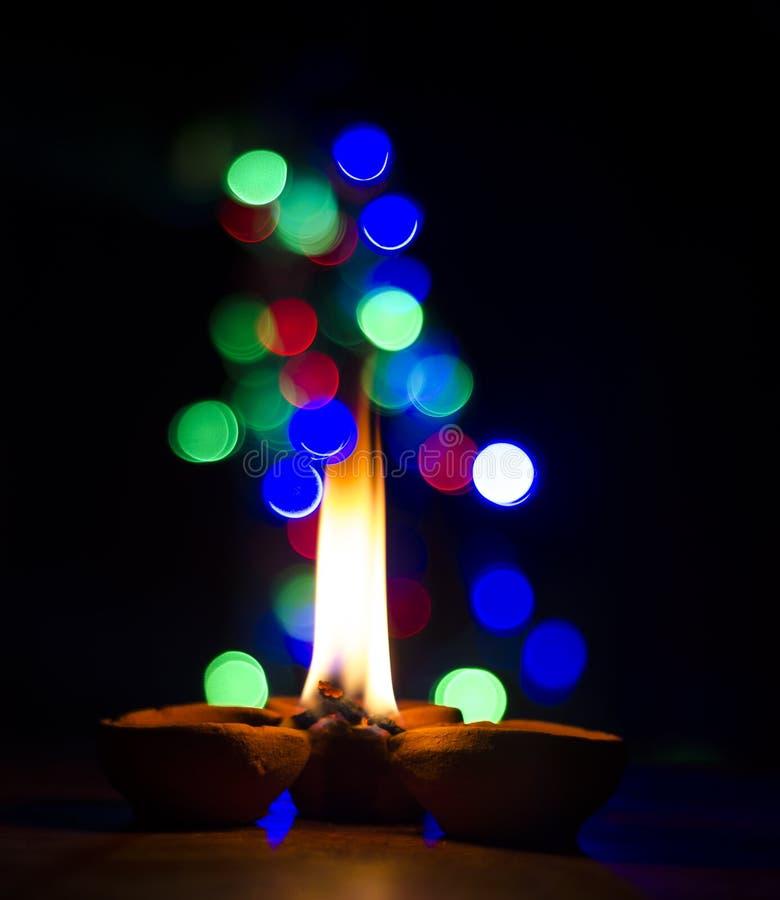 Indicatori luminosi di Diwali fotografie stock libere da diritti