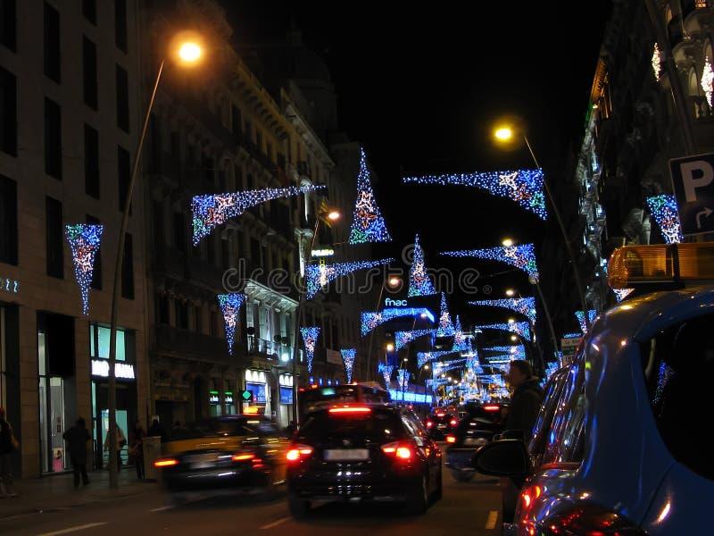 Download Indicatori Luminosi Di Natale Fotografia Stock - Immagine di luce, lustro: 7301074