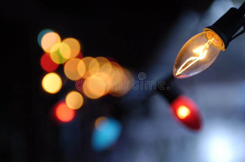 Indicatori luminosi di natale