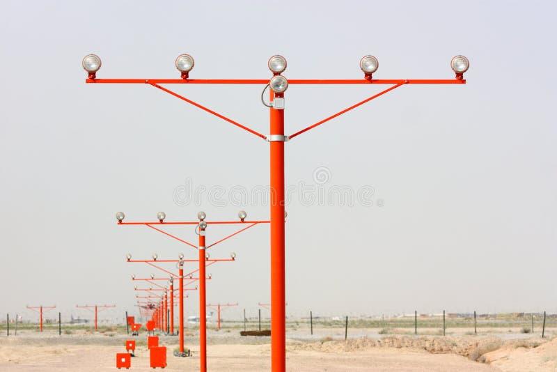 Indicatori luminosi di pista immagine stock libera da diritti