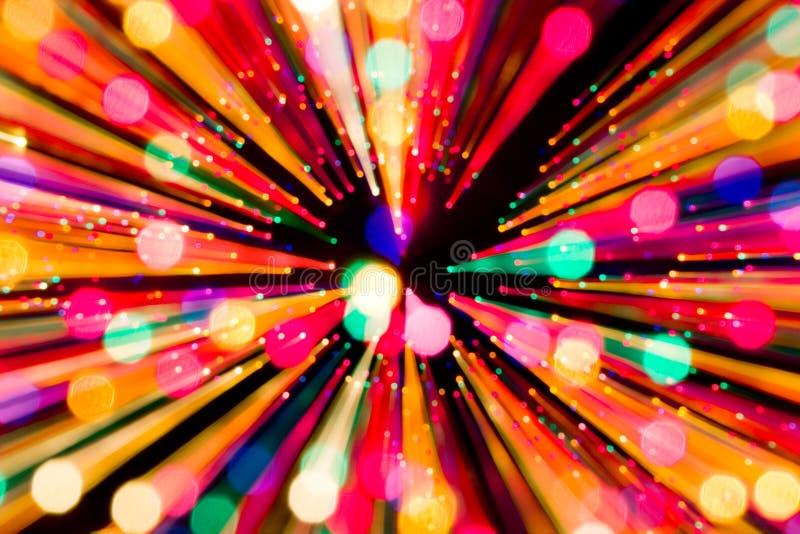 Indicatori luminosi espandentesi fotografie stock