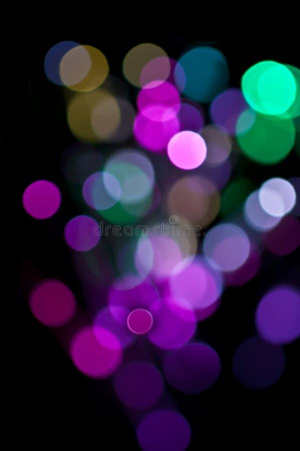 Indicatori luminosi magici. fotografia stock libera da diritti