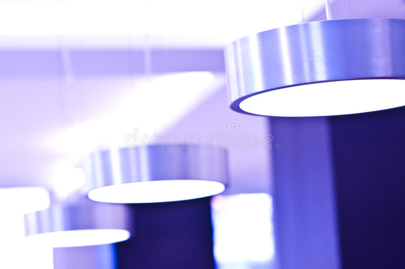 Indicatori Luminosi Viola Fotografie Stock Libere da Diritti