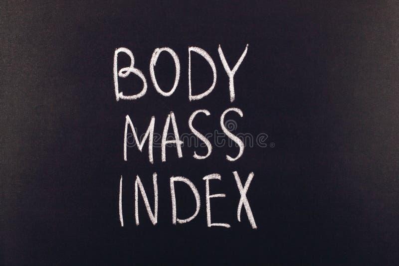 Indice de masse corporelle images stock