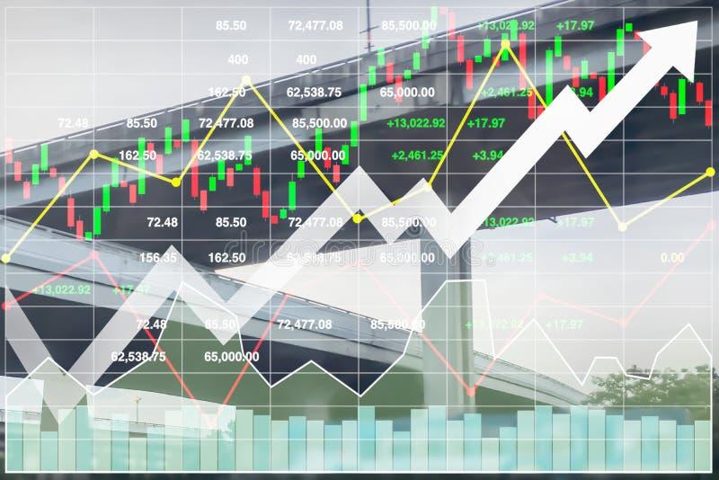 Indice finanziario di riserva di riuscito investimento su trasporto illustrazione vettoriale