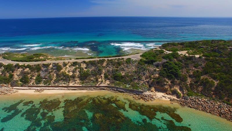 Indichi il parco di Nepean, vista aerea dell'Australia - di Victoria immagine stock libera da diritti
