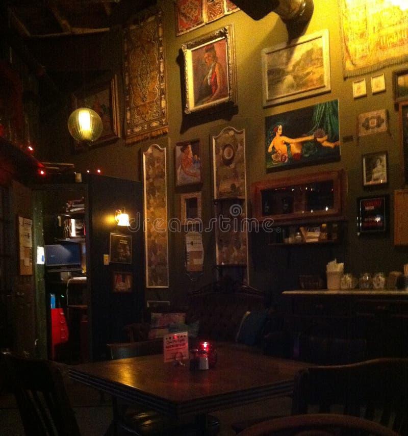Indie кафе стоковая фотография