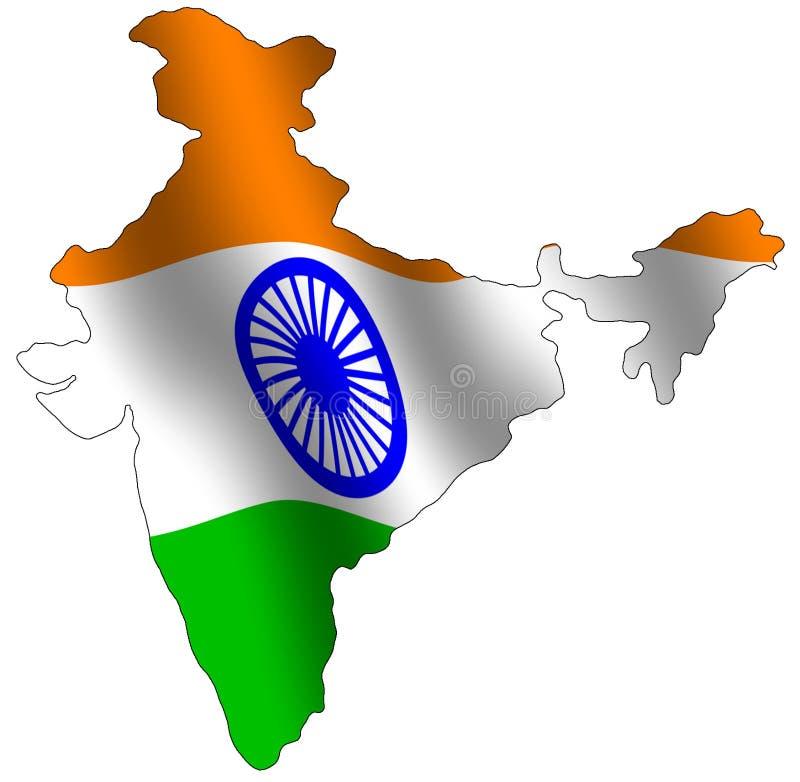 Indien lizenzfreie abbildung