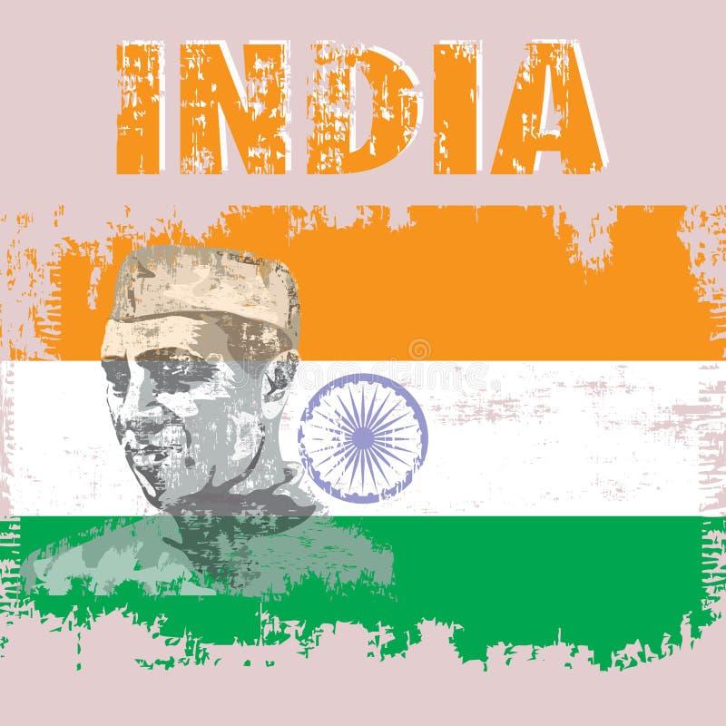 Indien stock abbildung