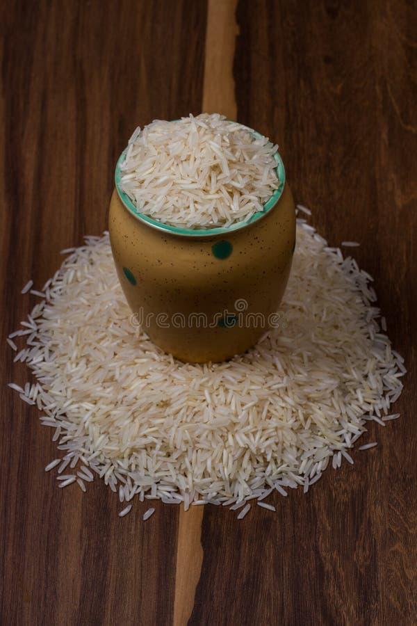 Indien basmati ris fotografering för bildbyråer