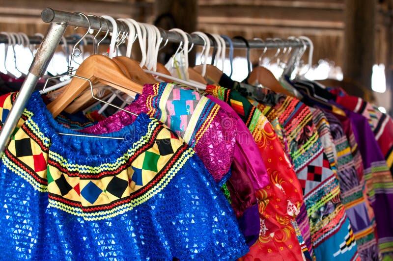 Indien coloré d'habillement photos stock