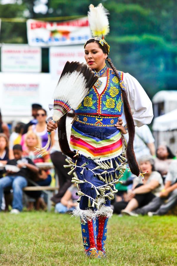 Indien d'Amerique indigène photographie stock