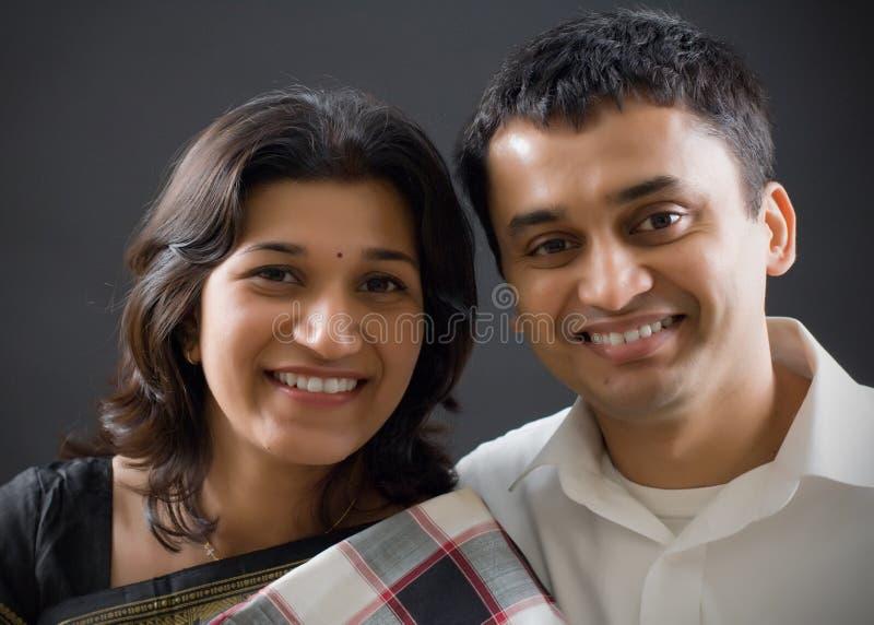 Indien de couples photographie stock