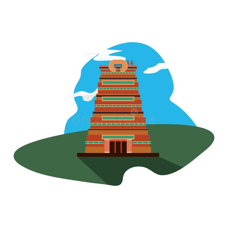 Indien de monument de ville de Chennai illustration libre de droits