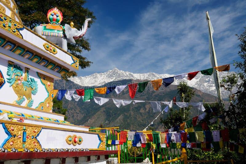 Indien Dharamsala lizenzfreies stockfoto