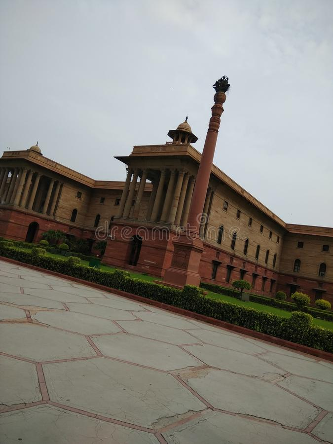 Indien erhalten Neu-Delhi Indien stockbild